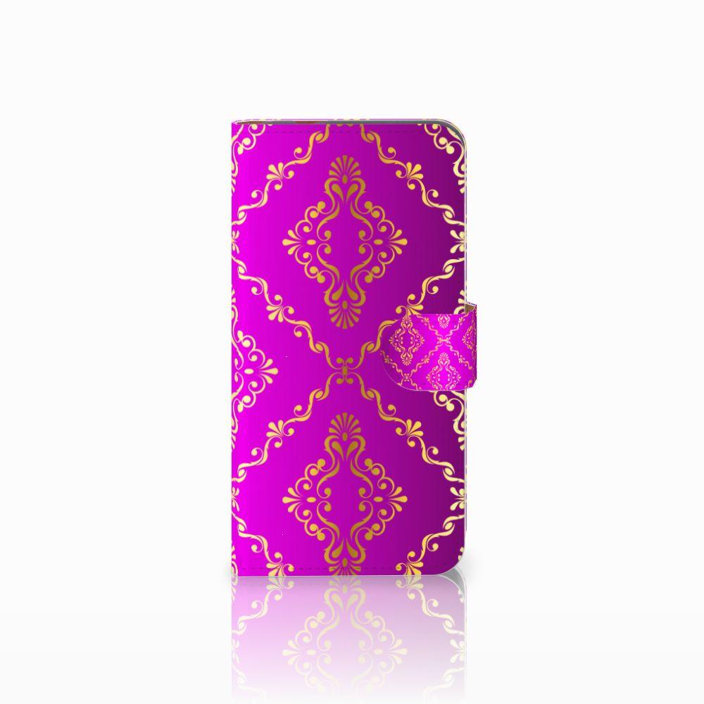 Huawei Nova Plus Uniek Boekhoesje Barok Roze