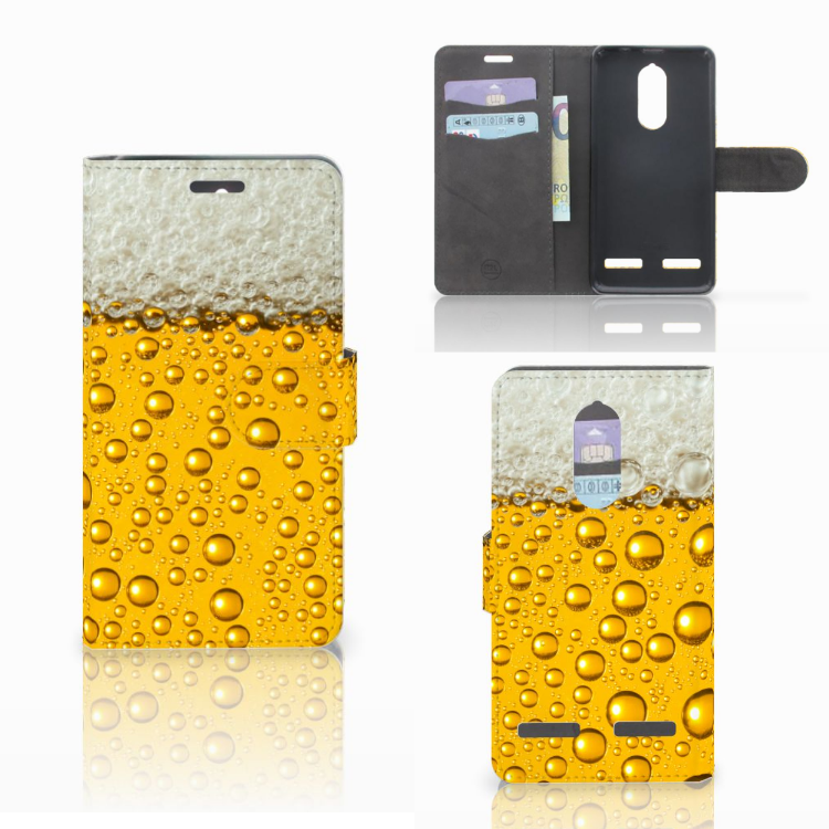 Lenovo K6 Book Cover Bier