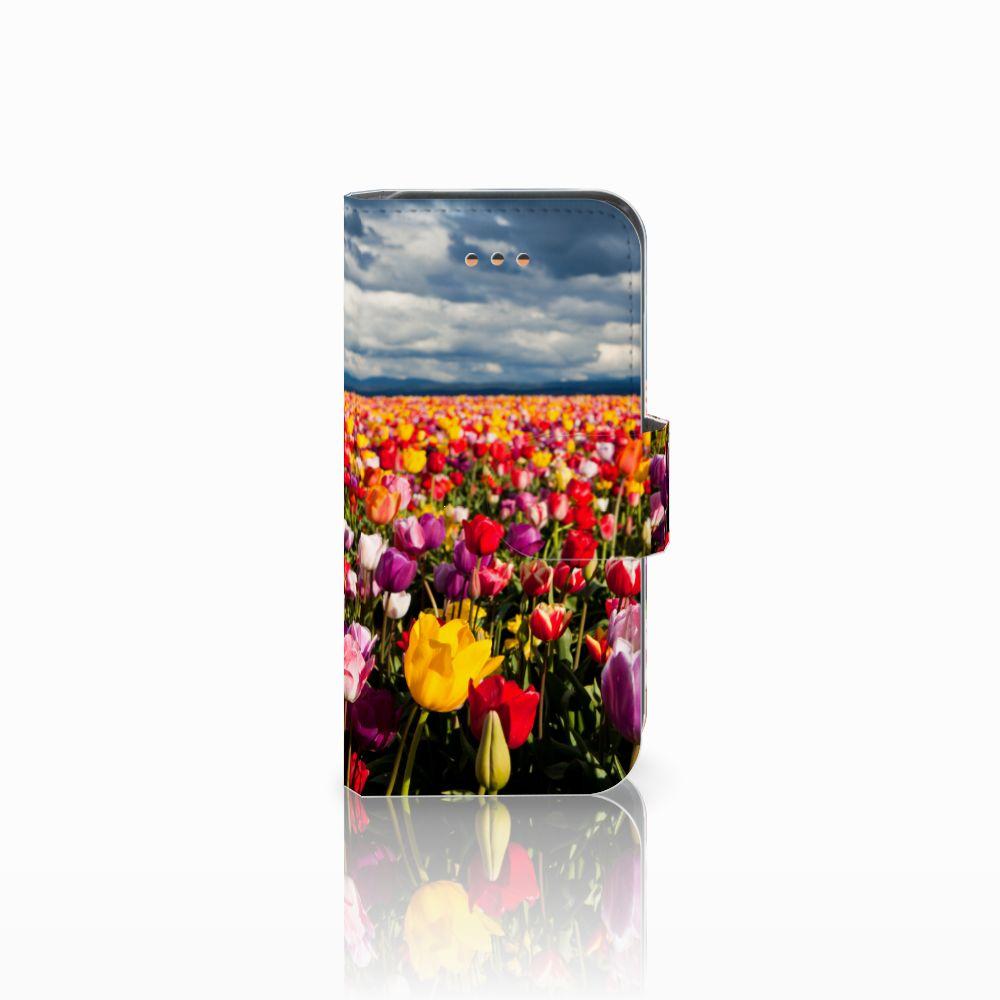 Apple iPhone 5C Uniek Boekhoesje Tulpen