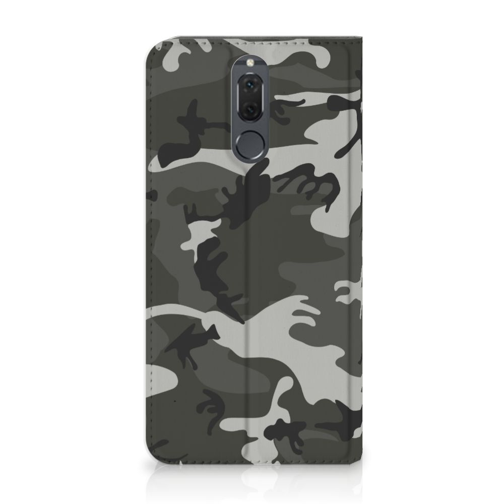 Huawei Mate 10 Lite Uniek Standcase Hoesje Army Light