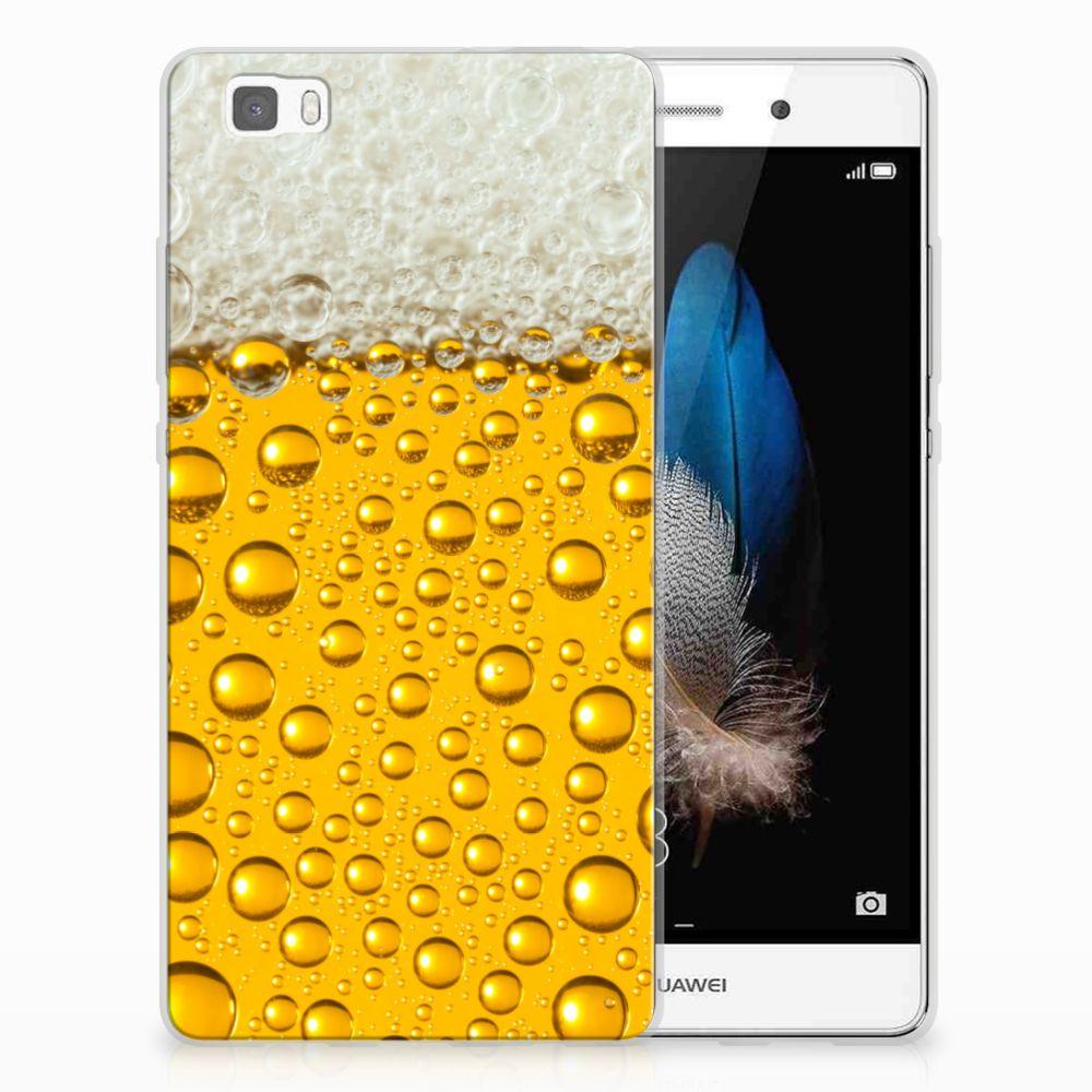 Huawei Ascend P8 Lite Uniek TPU Hoesje Bier