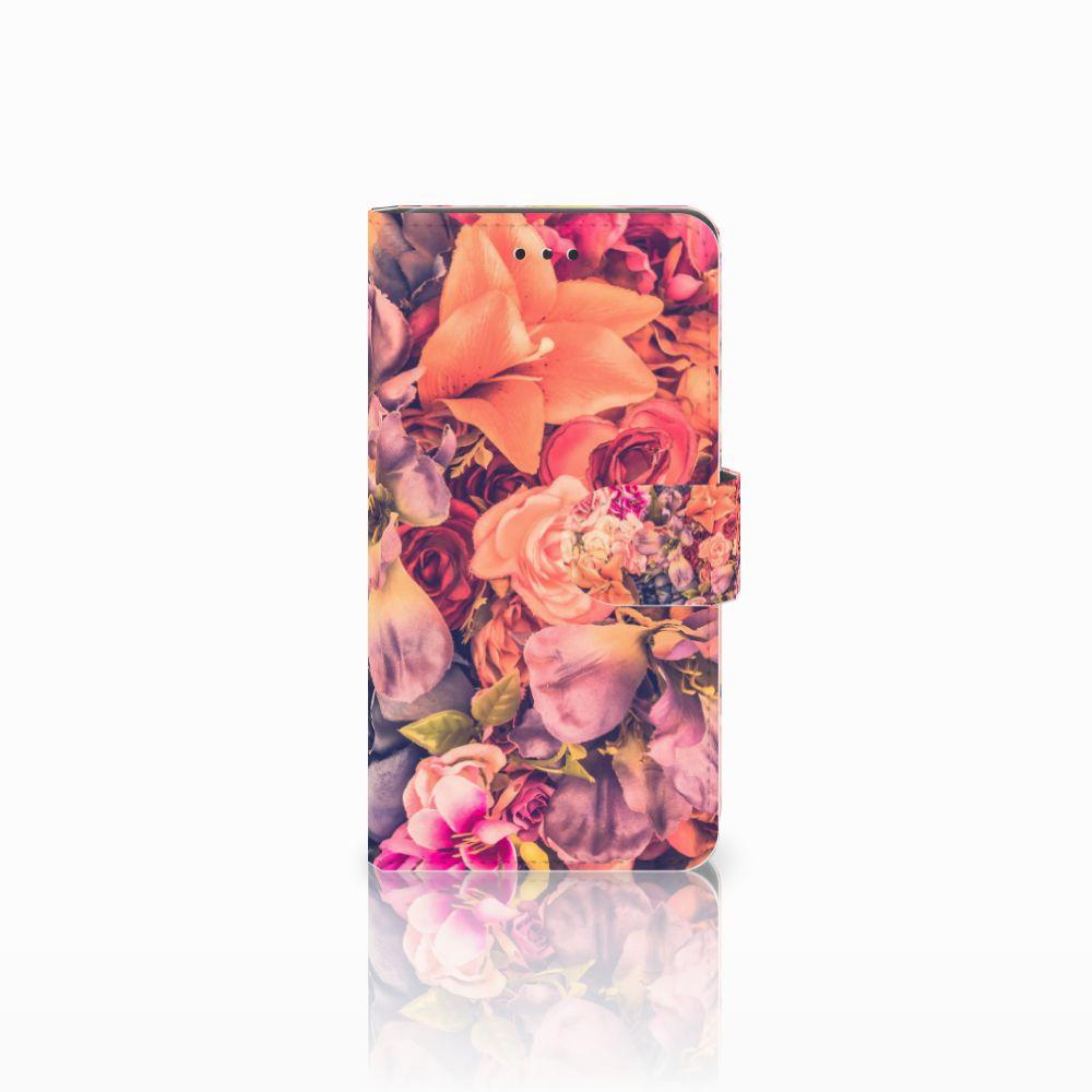 Nokia 7 Boekhoesje Design Bosje Bloemen