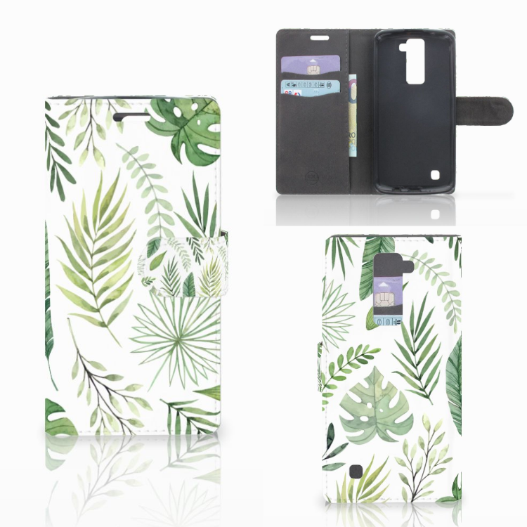 LG K10 2015 Hoesje Leaves