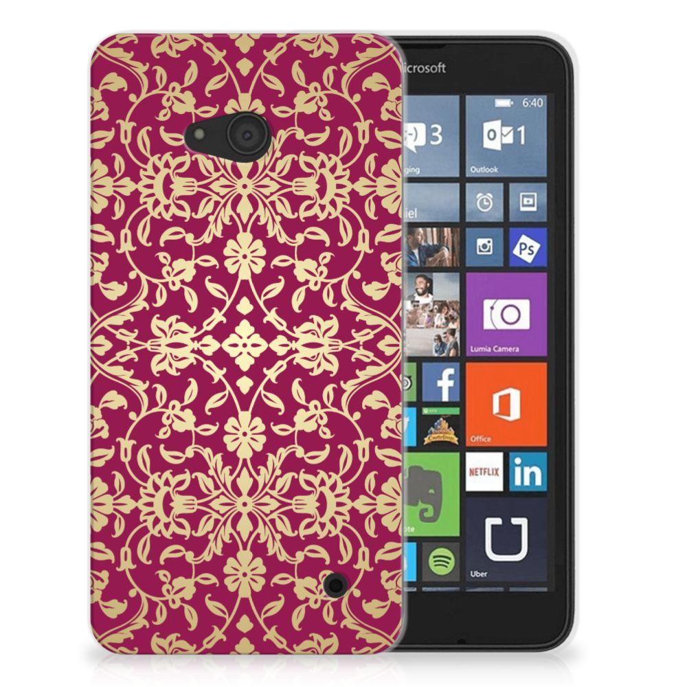 Siliconen Hoesje Microsoft Lumia 640 Barok Pink