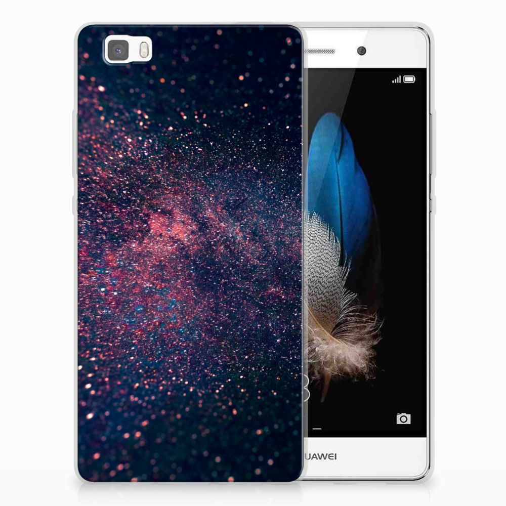 Huawei Ascend P8 Lite TPU Hoesje Stars