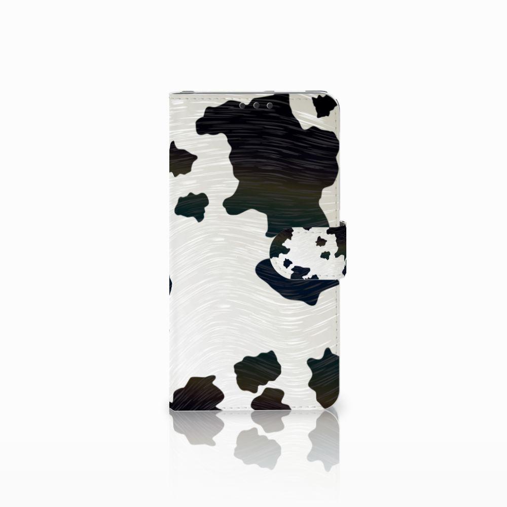 Microsoft Lumia 640 XL Telefoonhoesje met Pasjes Koeienvlekken
