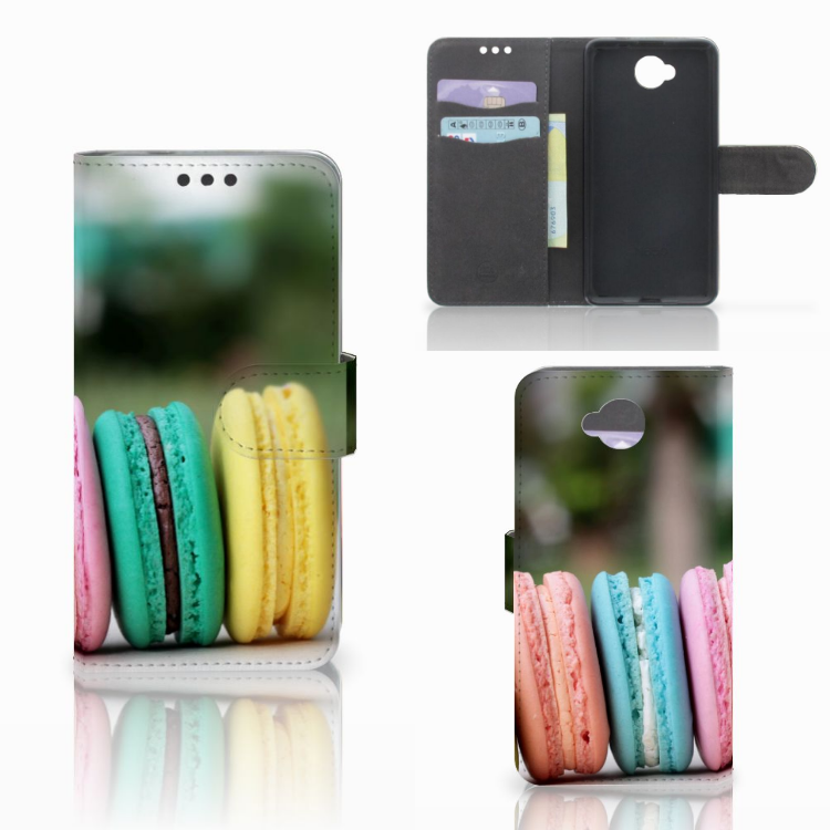 Microsoft Lumia 650 Book Cover Macarons