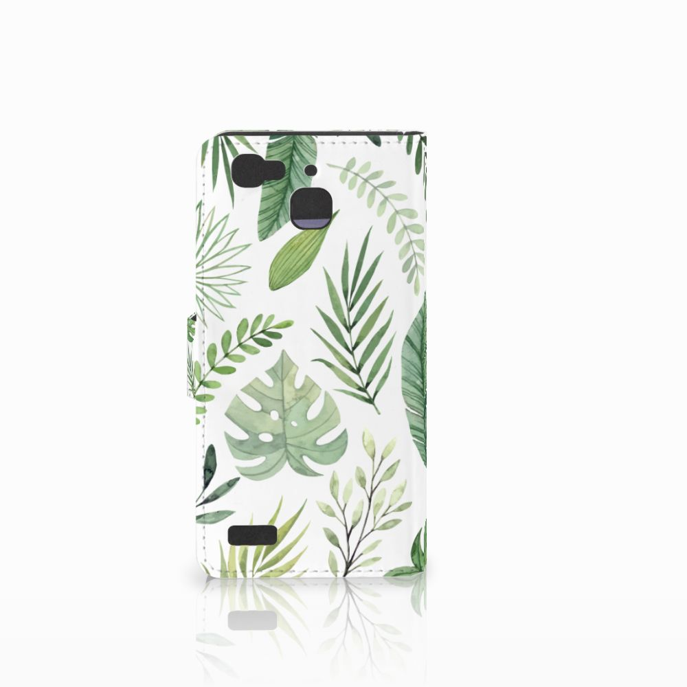 Huawei P8 Lite Smart (GR3) Hoesje Leaves