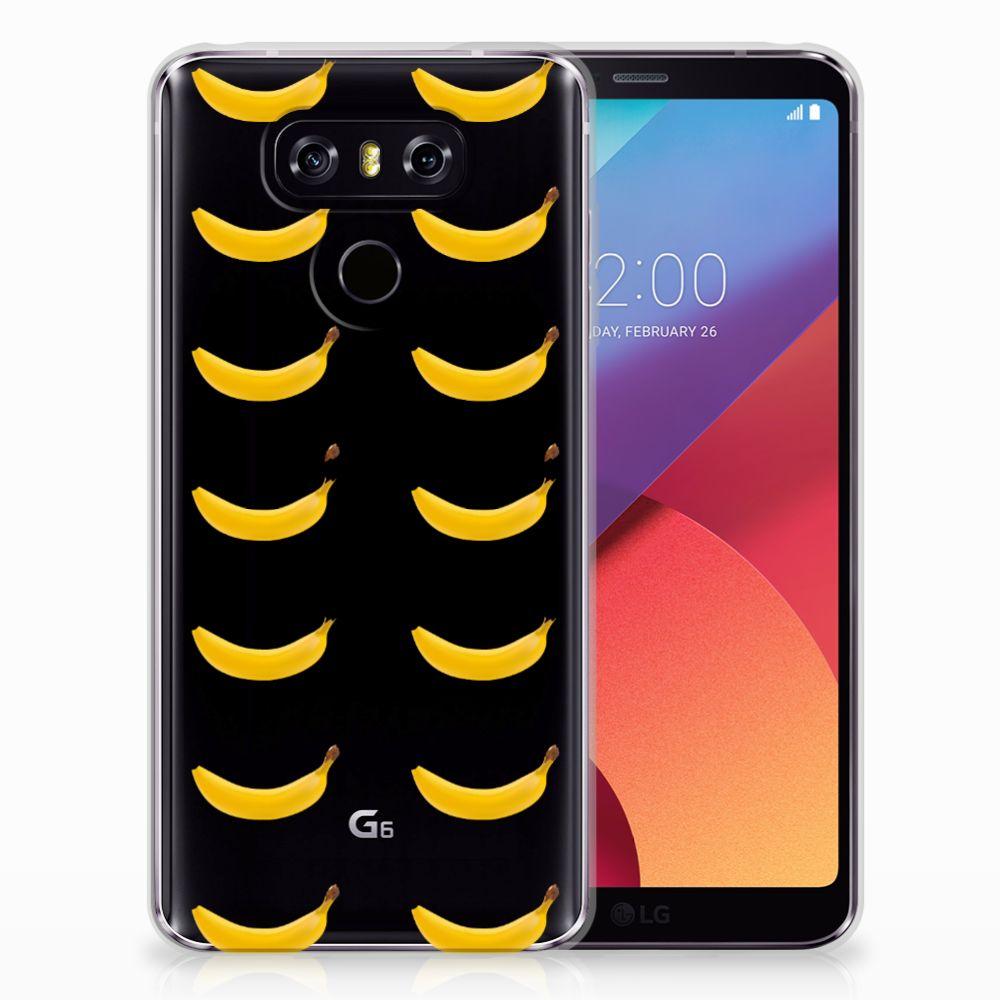 LG G6 Siliconen Case Banana