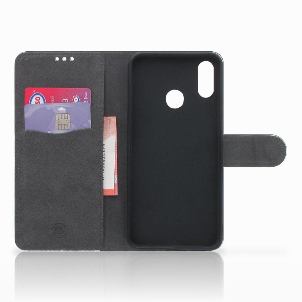 Huawei P Smart Plus Telefoonhoesje met Pasjes Tijger