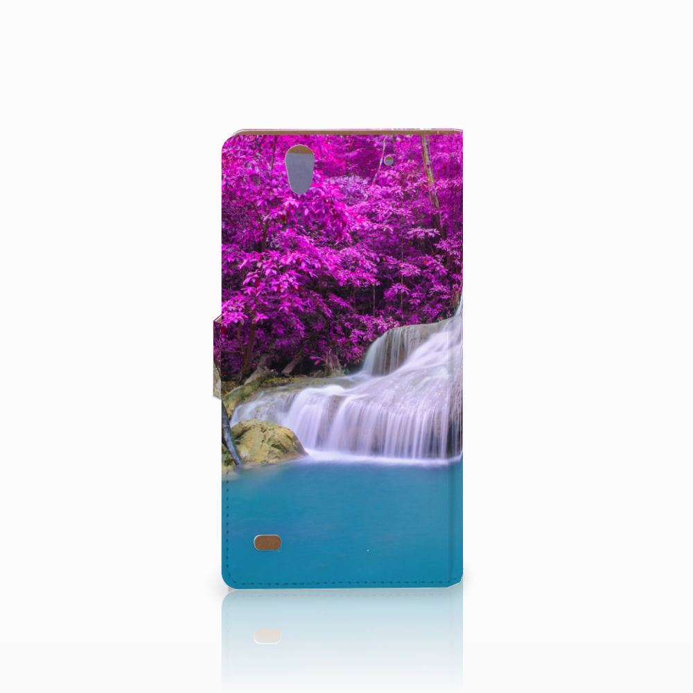 Sony Xperia C4 Flip Cover Waterval