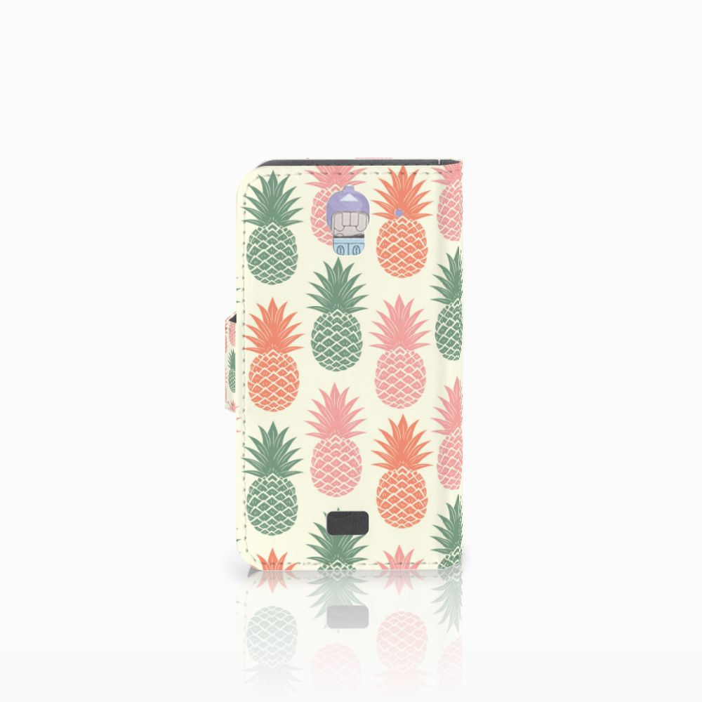 Huawei Y360 Book Cover Ananas