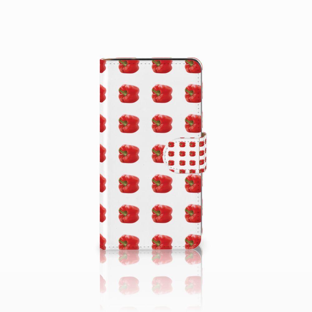 Samsung Galaxy J2 (2015) Boekhoesje Design Paprika Red