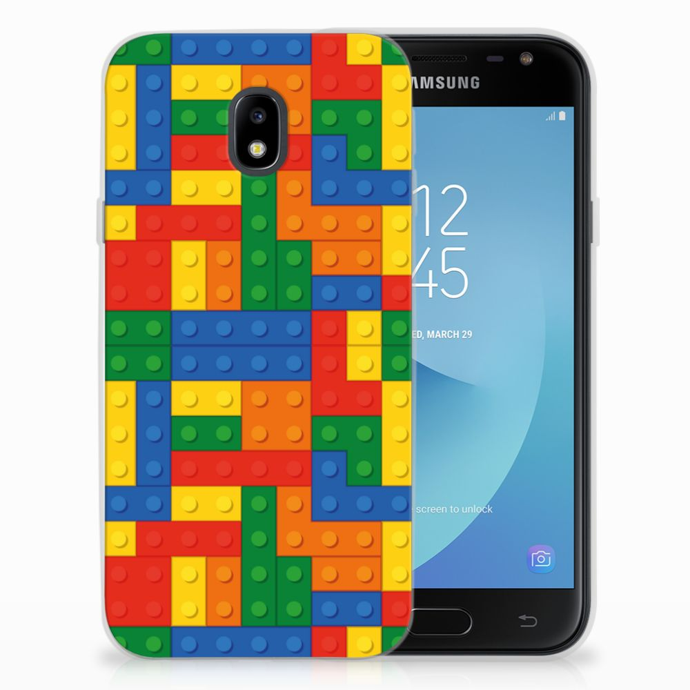 Samsung Galaxy J3 2017 Uniek TPU Hoesje Blokken