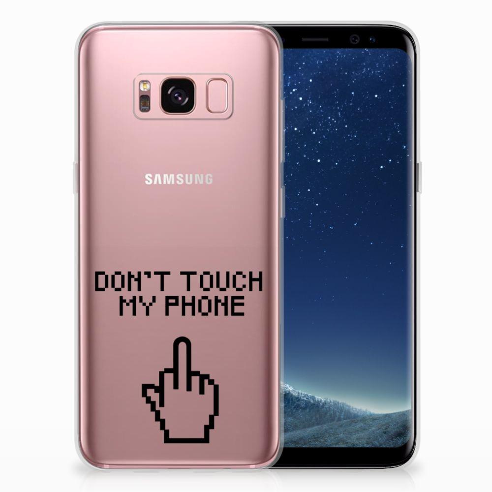 Samsung Galaxy S8 Uniek TPU Hoesje Finger DTMP