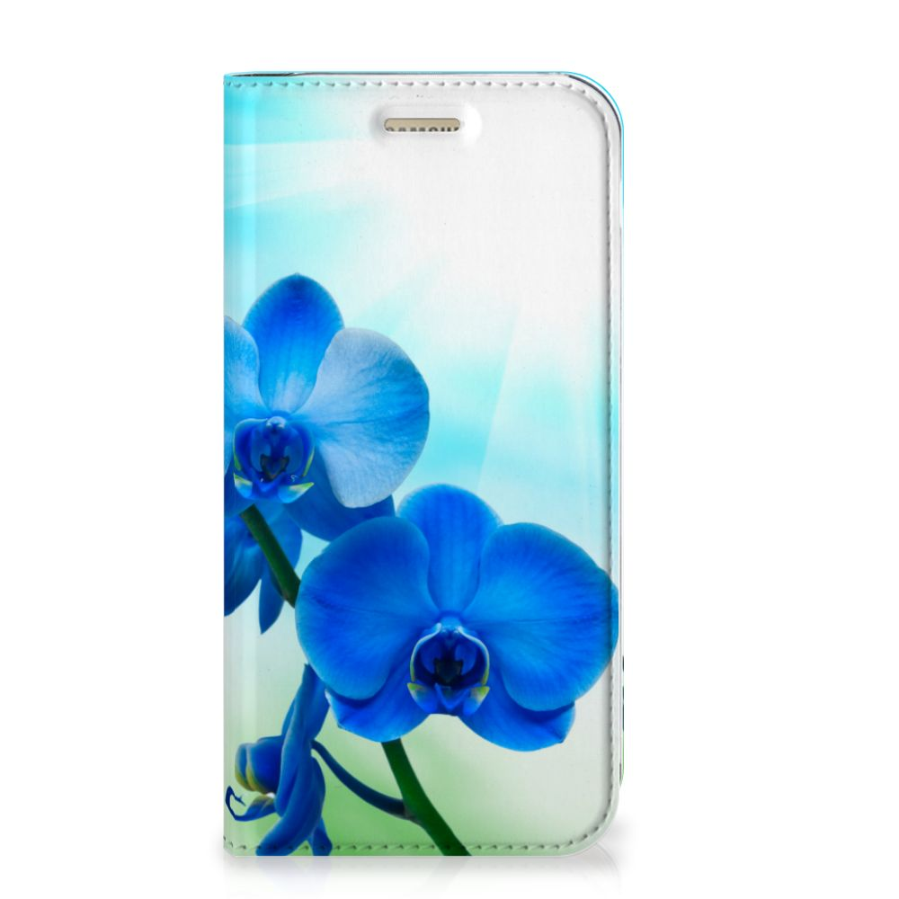 Samsung Galaxy A5 2017 Smart Cover Orchidee Blauw