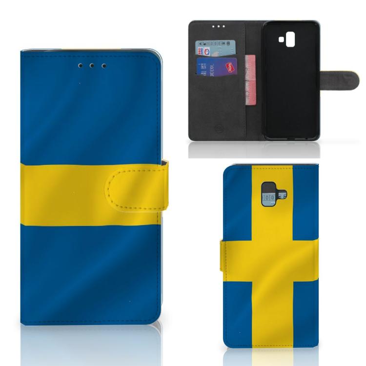 Samsung Galaxy J6 Plus (2018) Bookstyle Case Zweden