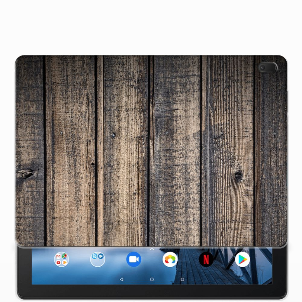 Lenovo Tab E10 Silicone Tablet Hoes Steigerhout