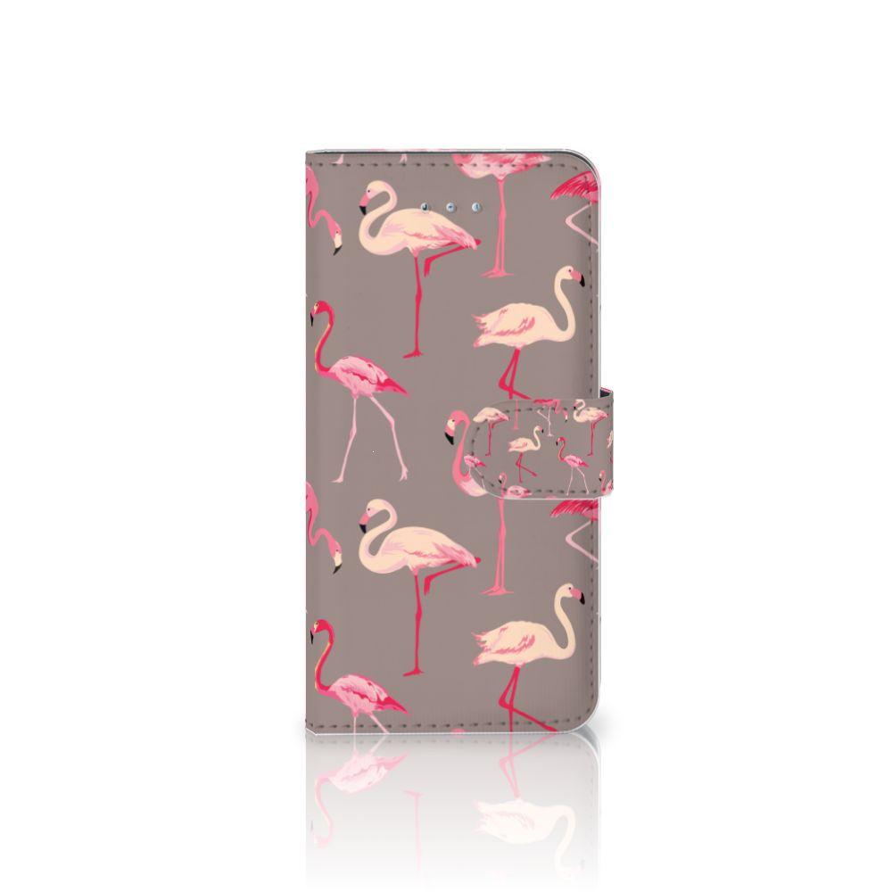 Honor 4A | Y6 Uniek Boekhoesje Flamingo