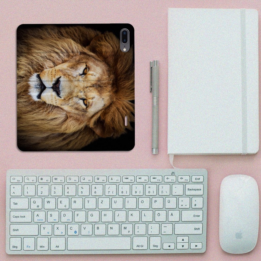 Apple iPhone 7 Plus | 8 Plus Hoesje maken Leeuw