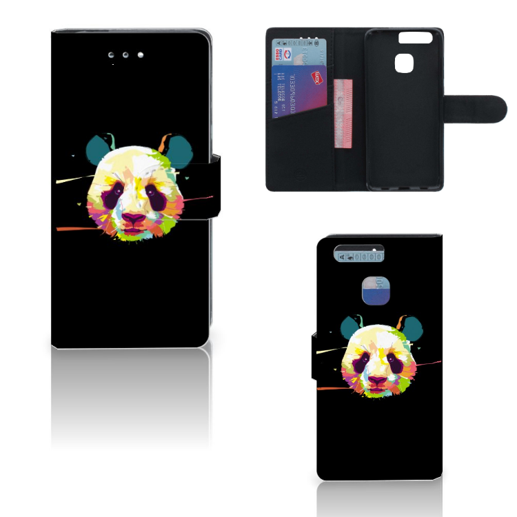 Huawei P9 Leuke Hoesje Panda Color