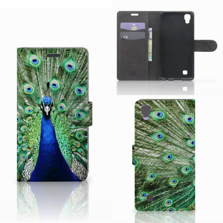 LG X Power Telefoonhoesje met Pasjes Pauw