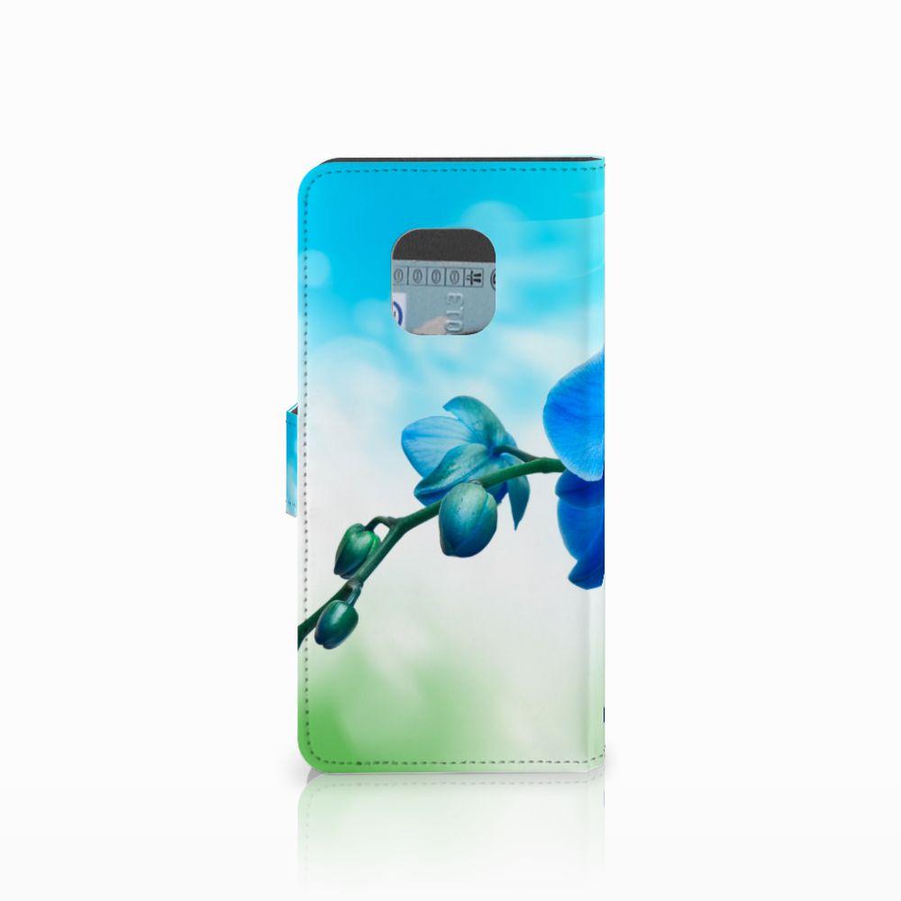 Huawei Mate 20 Pro Hoesje Orchidee Blauw
