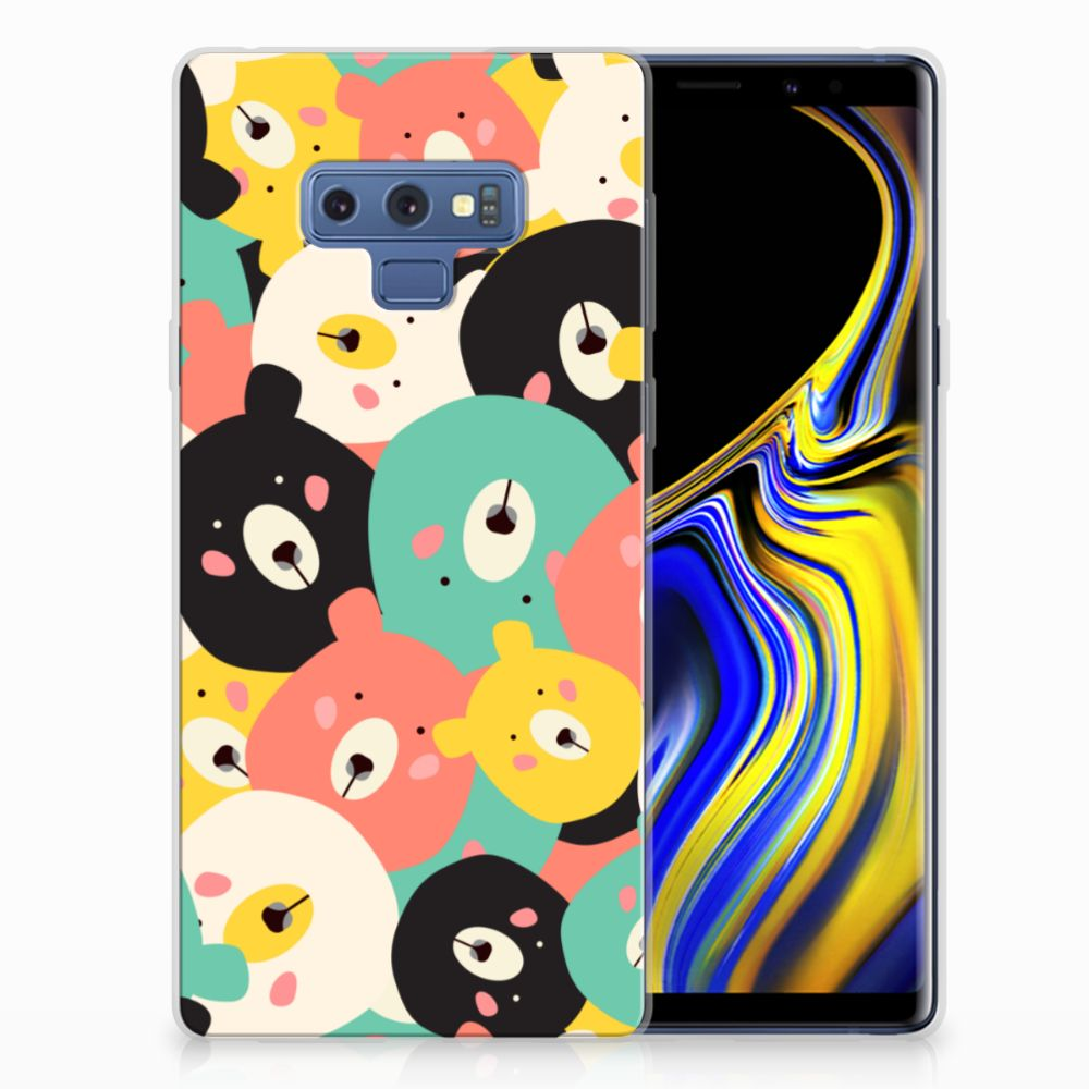 Samsung Galaxy Note 9 Telefoonhoesje met Naam Bears
