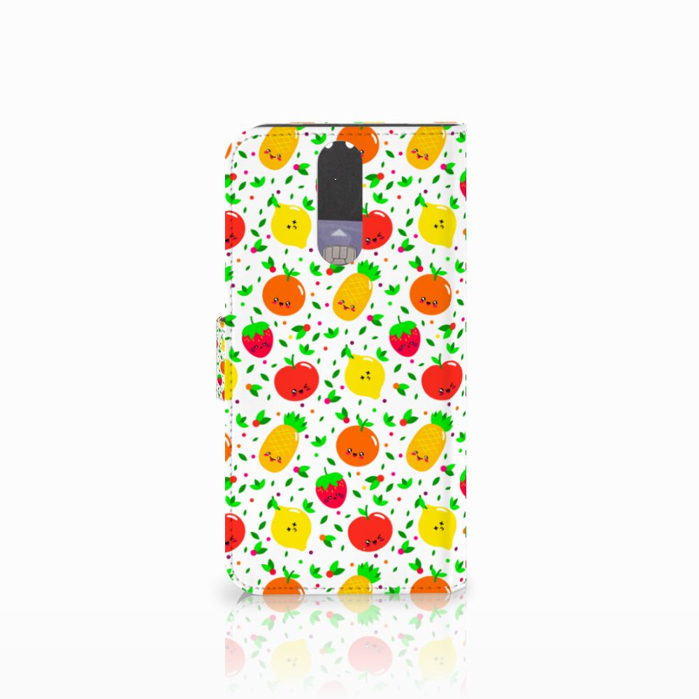 Huawei Mate 10 Lite Book Cover Fruits