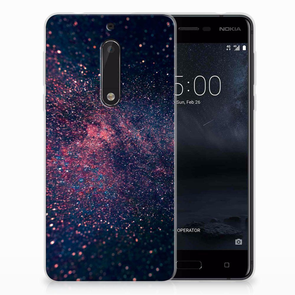 Nokia 5 TPU Hoesje Stars
