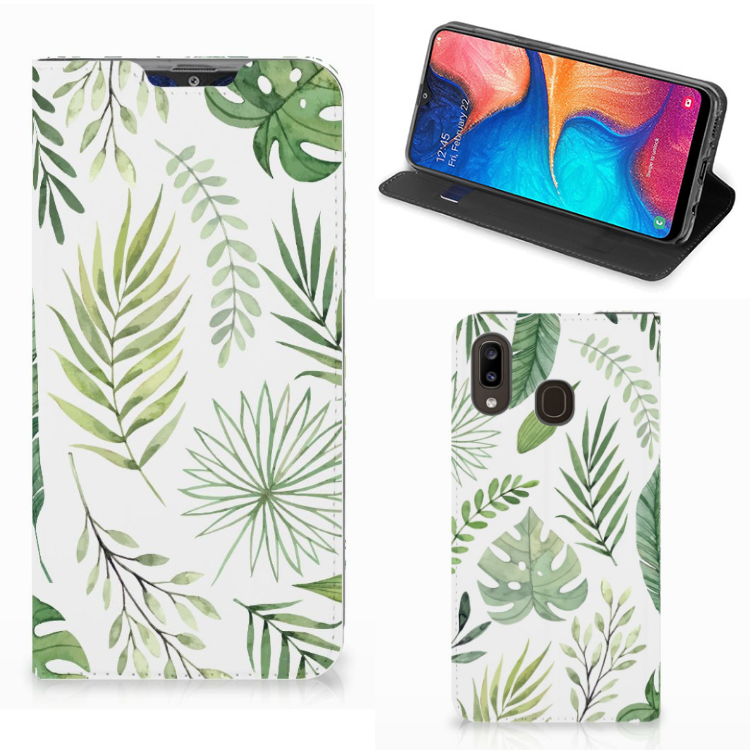 Samsung Galaxy A30 Smart Cover Leaves