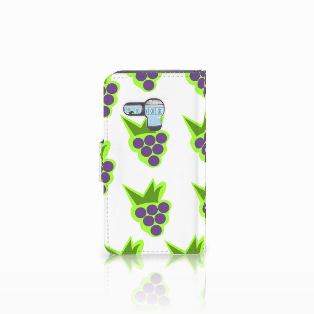 Samsung Galaxy S3 Mini Book Cover Druiven