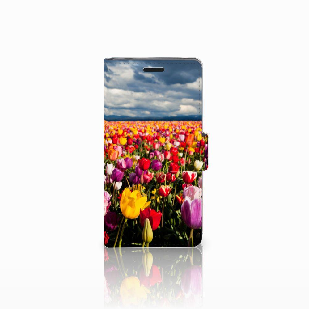 Sony Xperia E3 Uniek Boekhoesje Tulpen