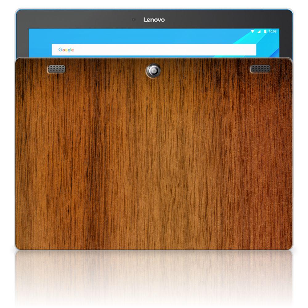 Lenovo Tab 10 | Tab 2 A10-30 Uniek Tablethoesje Donker Hout
