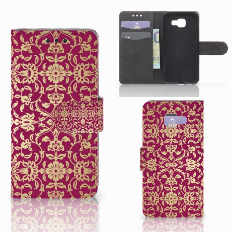 Wallet Case Samsung Galaxy A3 2016 Barok Pink