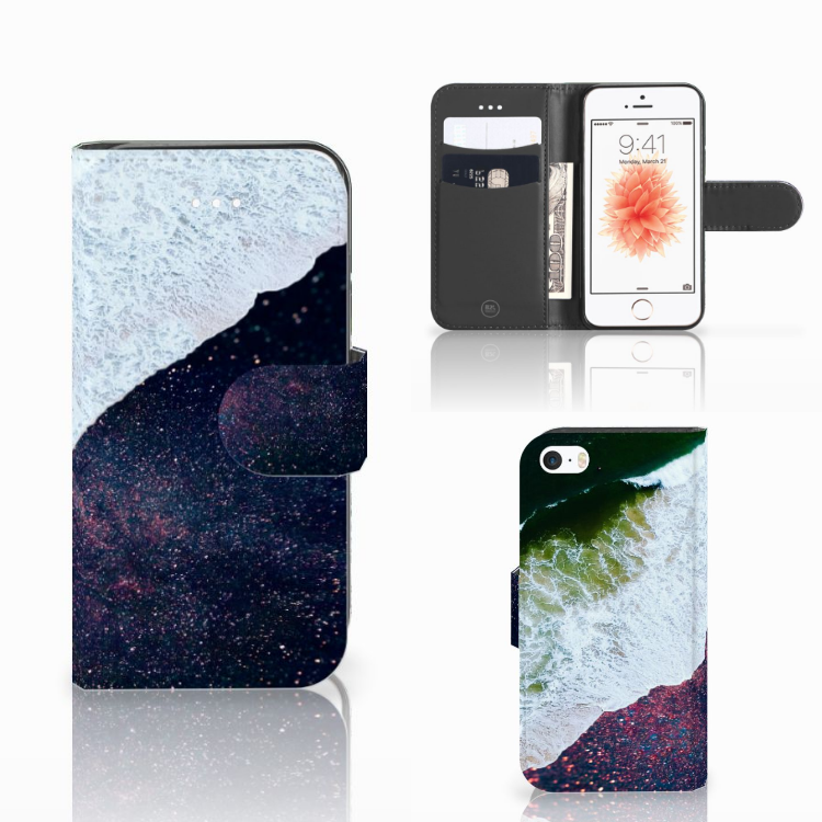 Apple iPhone 5 | 5s | SE Bookcase Sea in Space