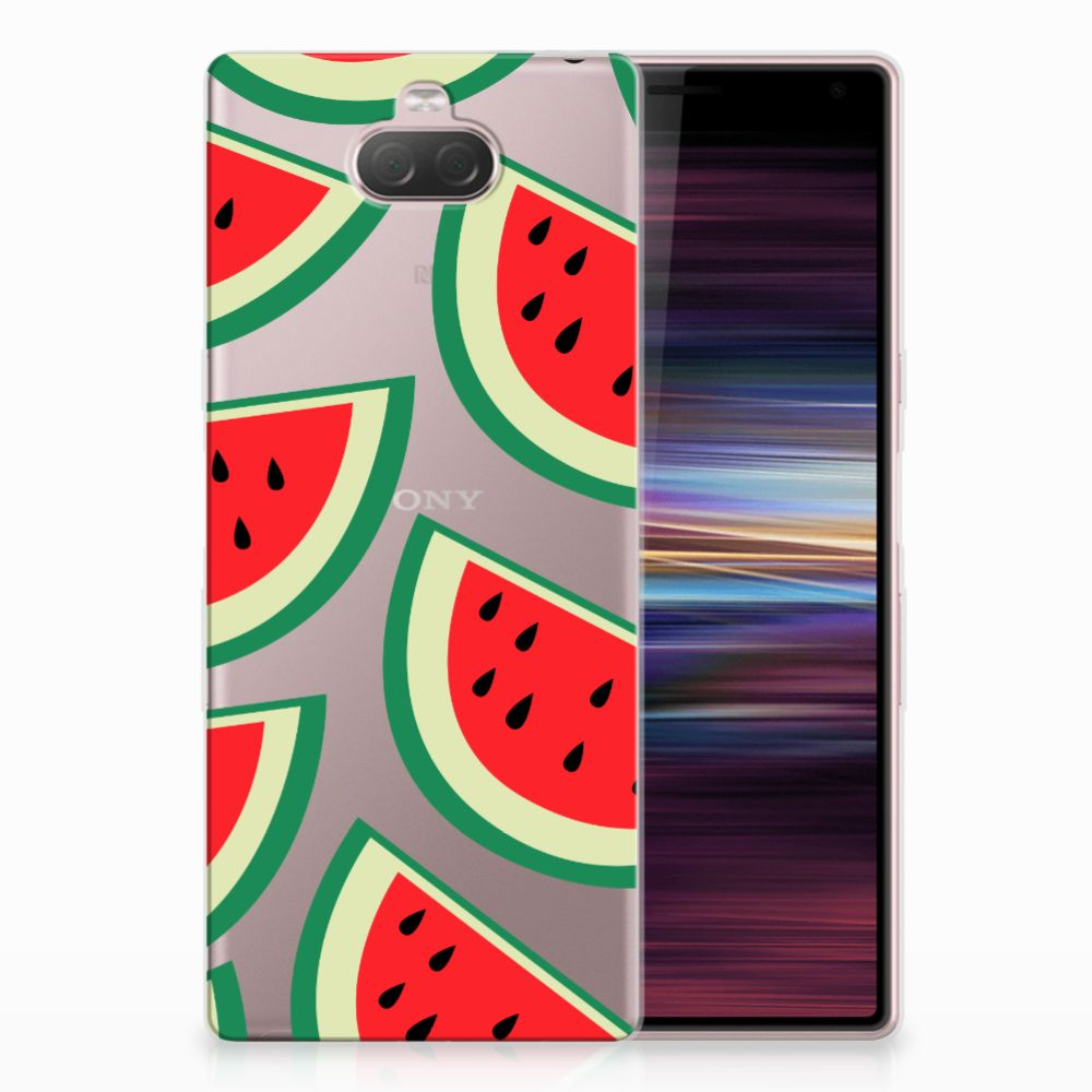 Sony Xperia 10 Siliconen Case Watermelons