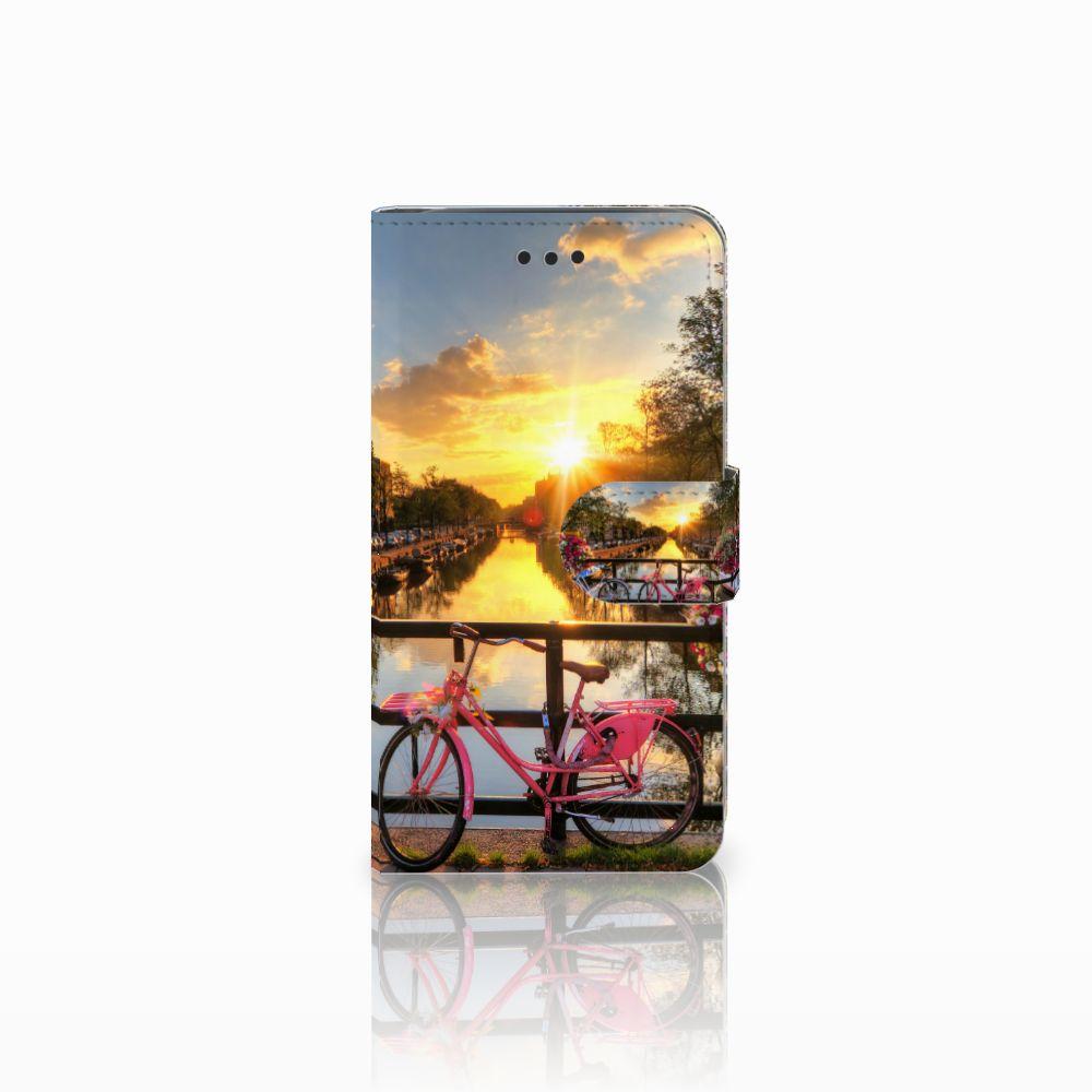 Samsung Galaxy J2 Pro 2018 Uniek Boekhoesje Amsterdamse Grachten