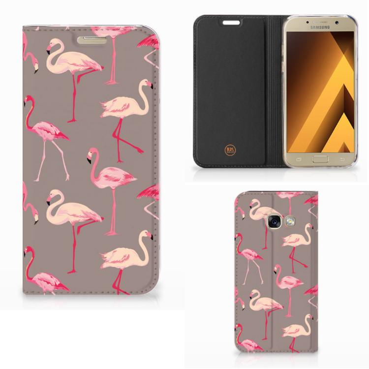 Samsung Galaxy A3 2017 Hoesje maken Flamingo