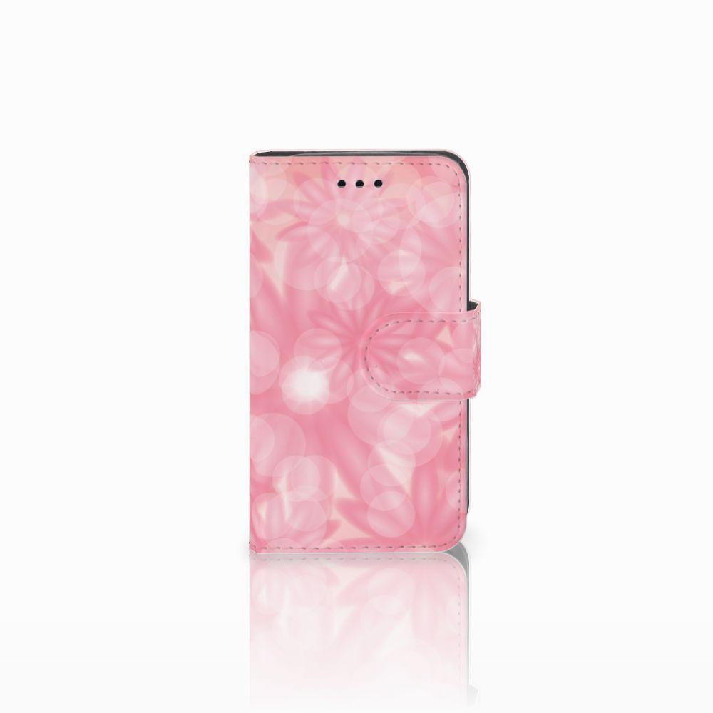 Samsung Galaxy Trend 2 Uniek Boekhoesje Spring Flowers