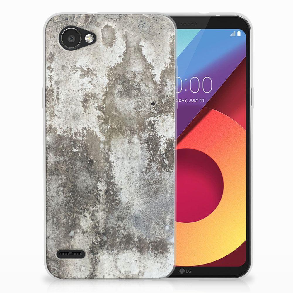 LG Q6 | LG Q6 Plus TPU Hoesje Design Beton