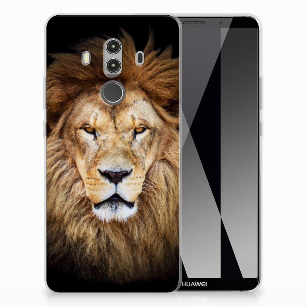 Huawei Mate 10 Pro TPU Hoesje Design Leeuw
