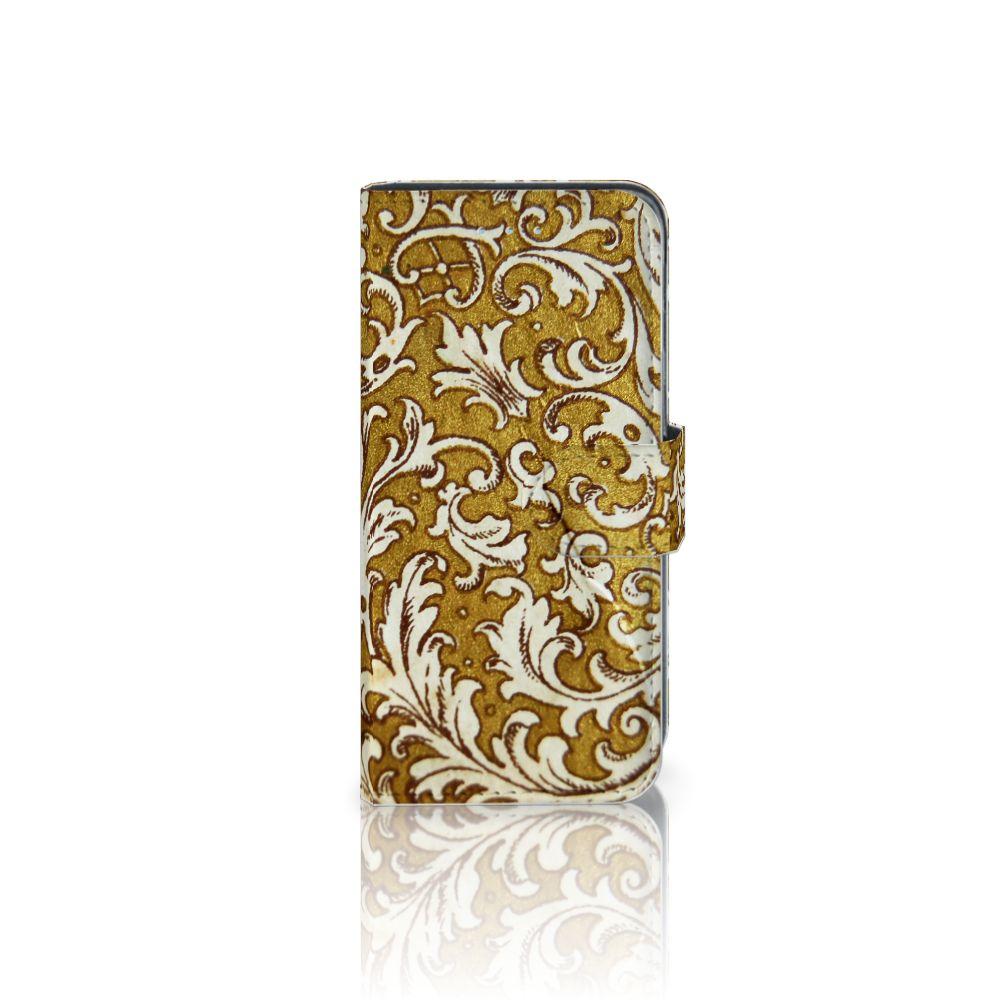 Samsung Galaxy A5 2016 Boekhoesje Design Barok Goud