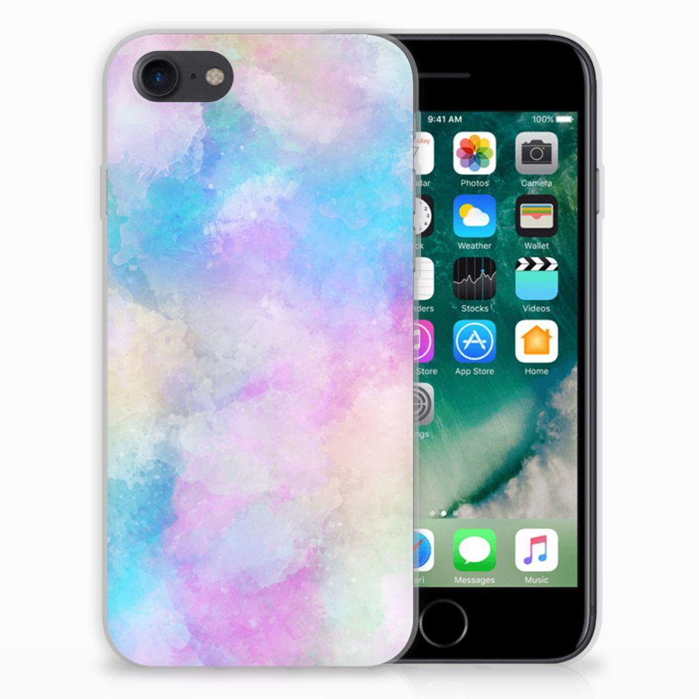 Hoesje maken Apple iPhone 7 | 8 Watercolor Light