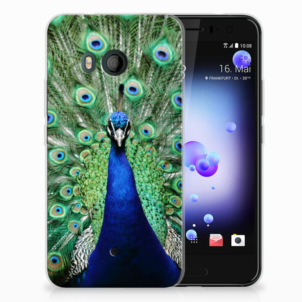 HTC U11 TPU Hoesje Pauw