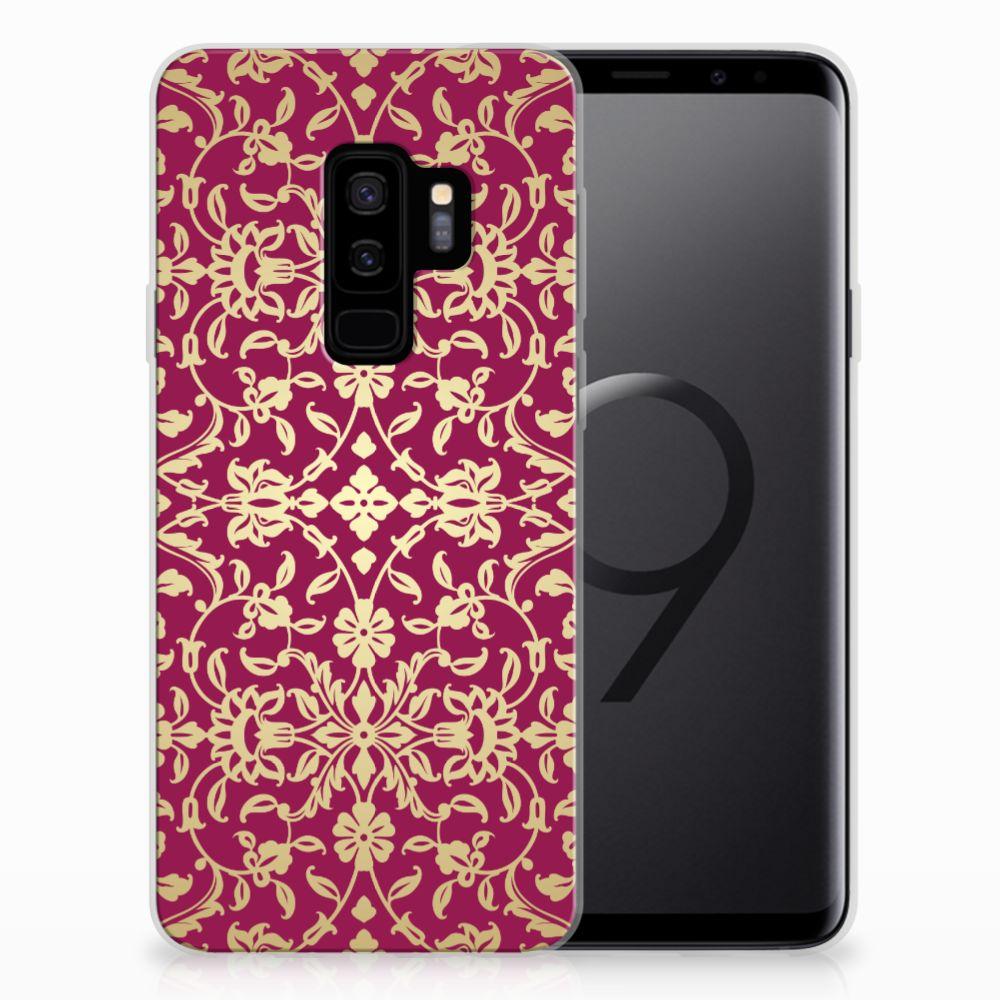 Siliconen Hoesje Samsung Galaxy S9 Plus Barok Pink