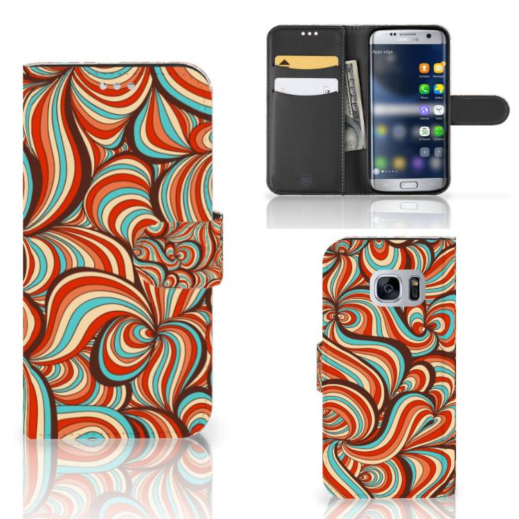 Samsung Galaxy S7 Hoesje Retro