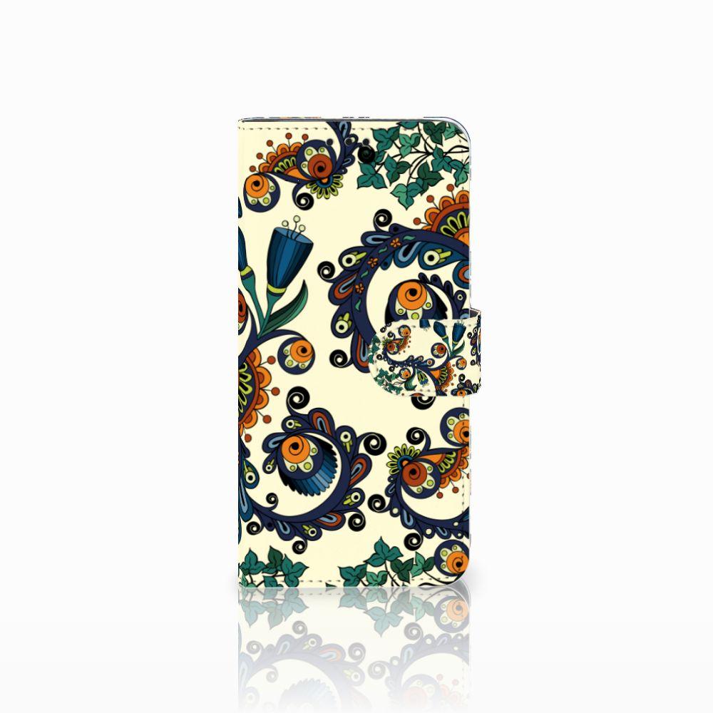 Huawei Nova 4 Boekhoesje Design Barok Flower