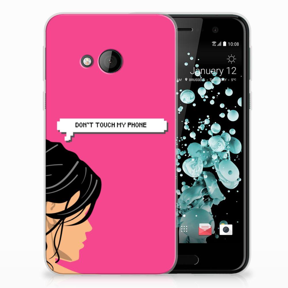 HTC U Play Uniek TPU Hoesje Woman DTMP