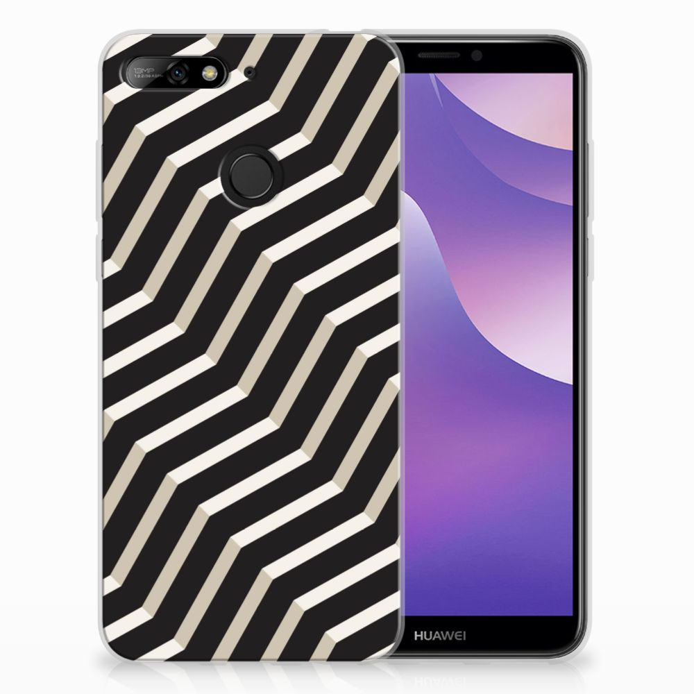 Huawei Y6 (2018) TPU Hoesje Design Illusion